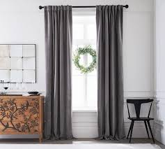 cast iron black curtain rod wall