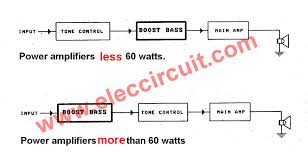 active bass boost circuit using ic 741 eleccircuit com connection