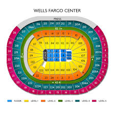 Thorough Wells Fargo Center Seating Chart Jingle Ball Flyers