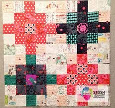 Impromptu Quilt Guild Program » Stash Bandit & These are 3.5″ patches I played with while making a baby quilt about a year  ago. I had a good time arranging and rearranging them until I came up with  a ... Adamdwight.com