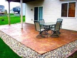 patio designs. Stone Patio Designs And Ideas Concrete Shapes
