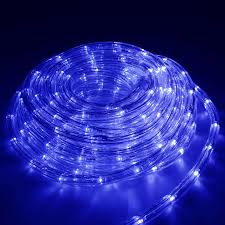 christmas rope lighting. Best Blue Rope Lights Outdoor Photo With Christmas Lighting