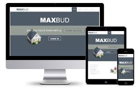 I Want To Build A Website For Free Free Website Template Construction Company Maxbud