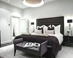 bedroom inspiration gray. Black And Grey Bedroom Inspiration For A Classic In With White  Walls Dark Hardwood Gray