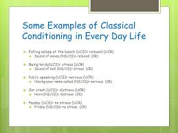 Example Of Classical Conditioning Agenda Announcements Candy Friday Will Your Class Qualify 1