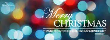 Download Merry Christmas - Christian Facebook Cover & Banner