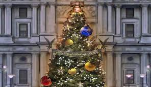 Christmas Decorations Designer Hamilton Set Designer is Decorating the City Hall Christmas Tree 74