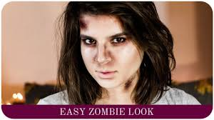 how to do easy zombie makeup tutorial the life lab