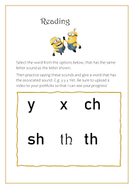 The following diagram gives some examples of words that begin with sh, ch, th, wh. Phonics Y X Ch Sh Th Worksheet