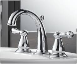 Bathroom Faucet Delta 3575lf Leland Two Handle Widespread Lavatory Faucet Chrome