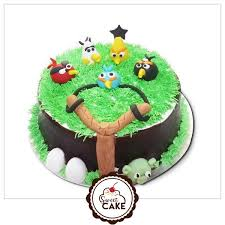 Angry Birds Cake Cartoon cake shops in Noida Delhi