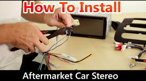 how to correctly install an aftermarket car stereo wiring harness and dash kit