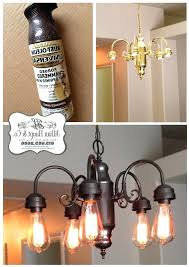 full image for jillians daydream being frugal spray paint light photo 1 of 3 full image for chandelier cleaner spray reviews crystal um chandeliers