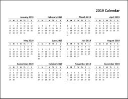 pdf printable calendar free printable calendar 2019 pdf top 10 free 2019 calendar
