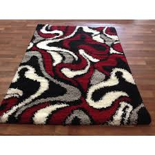 amazing red black and white area rugs gray grey with rug 14 bitspin throughout red black and white area rugs popular