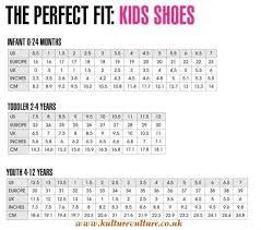 Nike Shoes Youth Size Chart Kulturevulture Co Uk