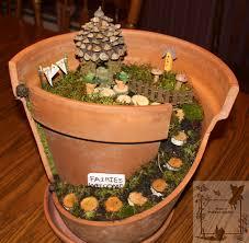 Small Picture terracotta pots fairy houses Terra Cotta Pot Fairy Garden Good