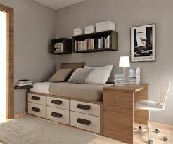 wood decorations for furniture. Brown Decoration And Wood Furniture In Teenage Bedroom Decorations For E