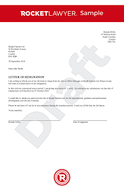 Resignation Of Employment Resignation Letter Uk Template Make Yours For Free