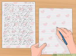 Free Sample Love Letters To Wife Custom How To Write A Love Letter With Sample Letters WikiHow