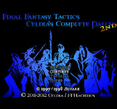 Fft Zodiac Chart A Blind Lets Play Of Final Fantasy Tactics Celdias