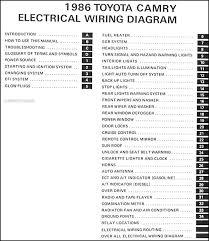 1986 toyota camry wiring diagram manual original 1996 toyota camry wiring diagram at 1996 Toyota Camry Radio Wiring Diagram