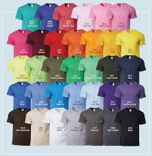 Gildan Shirt Color Chart 2016 Gildan Premium Cotton Adult T Shirt 76000 Axis Creative Hub