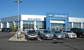 Mccluskey Chevrolet Auto Showroom Service Building American Buildings