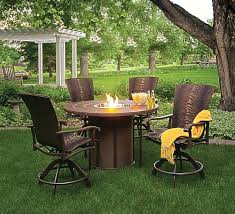 patio furniture fire pit table set fire pit table set good gas outdoor fire pit likewise