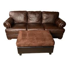 bonded leather sofa espresso brown bonded leather sofa with ottoman serta dream convertible palermo bonded leather