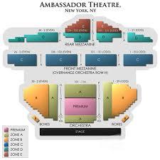 Ambassador Theatre Seating Chart Ambassador Theatre Seating Chart Theatre In New York