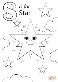Small Picture Letter S Coloring Pages Letter S Is For Star Coloring Page Free