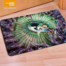 fashion welcome doormats 3d tropical fish print door mat,home ...