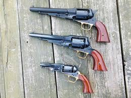 The Power Of Black Powder Revolvers Black Powder Vs