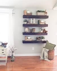 Wall Shelving For Living Room Floating Shelves My Home Pinterest The Cowboy The Purple