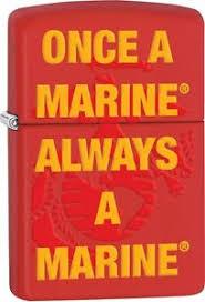 Once A Marine Always A Marine Details About Zippo Us Marine Corp Once A Marine Always A Marine Red Matte Lighter New 29387