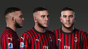 PES 2020 Faces Theo Hernández by Prince Hamiz ~ PESNewupdate.com | Free  Download Latest Pro Evolution Soccer Patch & Updates