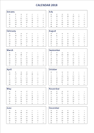 printable calendar 2018 word free 2018 printable calendar 2018 ms word template templates at