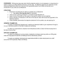Purpose Of A Resume Objectiveection Of Resume For Internship Career In Fresh Graduate 38