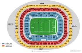 Uk Football Stadium Seating Chart Twickenham Stadium London Tickets Schedule Seating