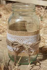 Decorating With Mason Jars And Burlap Mason Jar Centerpieces with Burlap Lace Crafts Jars and Mason 5