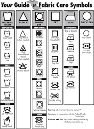 Free Printable Explains All Of The Symbols On The Tag Of