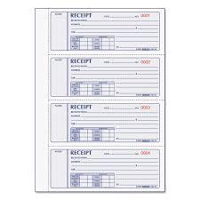 Money Receipt Book 7 X 2 3 4 Carbonless Triplicate 200 Sets Book