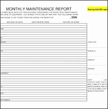 Daily Activity Report Template Latter Example Template