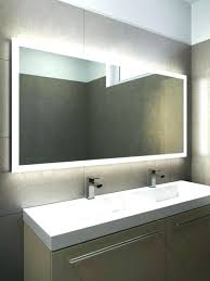 bathroom mirrors with led lights. Bathroom Light Mirror Battery Operated Led Mirrors  Lighting With Lights Illuminated .