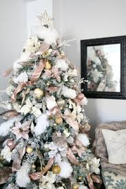 Light Pink And White Christmas Tree 12 Unique Colorful Christmas Trees Youll Absolutely Love