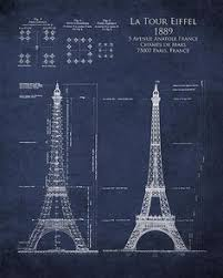 eiffel tower paris france architecture pinterest france and architectural design blueprint51 blueprint
