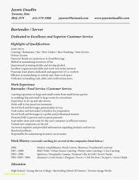 22 Food Server Resume Professional Template Best Resume Templates