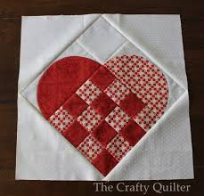Large Nordic Heart quilt block @ The Crafty Quilter | Quilt Blocks ... & Large Nordic Heart quilt block @ The Crafty Quilter Adamdwight.com
