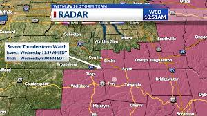 Severe Thunderstorm Watch for portions ...